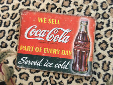 coca cola tin sign ~ Home Decor