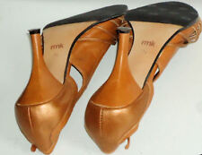 High (3 in. and Up) Leather Solid RMK Shoes for Women