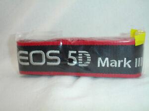 CANON EOS 5D Mark III CAMERA NECK STRAP EW-EOS5DMKIII , Genuine, NEW