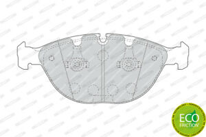 FERODO BRAKE PADS Front For BMW X5 E53 2005-2007 - 4.8L V8 - FDB1618