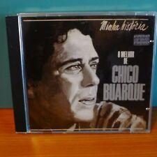 Minha Historia (O Melhor De) by Chico Buarque (Chico Buarque De Hollanda) (CD)