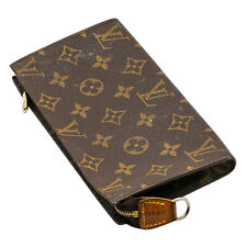"Authentic LOUIS VUITTON Monogram Bucket Bag Pouch 7.5"" x 4"""