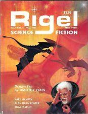 RIGEL SCIENCE FICTION #5 (Fall 1982) / Aesir Press/ TIMOTHY ZAHN Dragon Pax