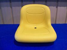 YELLOW SEAT FITS JOHN DEERE GX255,GX325,GX335,GX345,GX355,LX266.LX277,LX288 #AQ