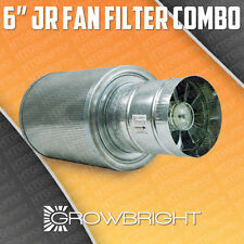 """6"""" CARBON FILTER FAN COMBO KIT EXHAUST INLINE DUCT SCRUBBER ODOR CONTROL 6 inch"""