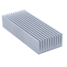 100*40*20mm Anodized Aluminium Heat Sink For Power Transistor/TO-126/TO-220/CPU