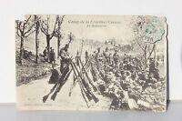 CPA - CARTE POSTALE ANCIENNE - CAMP DE LA COURTINE - CREUSE - 1906