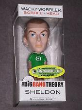 BIG BANG THEORY SHELDON COOPER EXCLUSIVE GREEN LANTERN FUNKO BOBBLE HEAD FIGURE