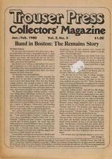 Boston Scene Bad Company Free Mott The Hoople Mag