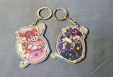 Digimon Team 03 Dukemon Beelzebumon Keychain Wallet Keyring Creative Gift N