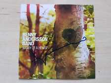 """Benny Andersson """"ABBA"""" Autogramm signed CD Booklet """"Story Of A Heart"""""""