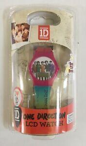 1D One Direction Purple Aqua LCD Watch 2013 Boy Band NEW & SEALED