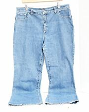 Fresh Produce Womens Blue Jeans Size 16 Stretch Light Wash Denim