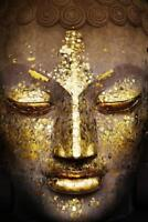 Buddha : Golden Face - Maxi Poster 61cm x 91.5cm new and sealed