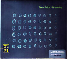 Steve REICH b.1936 DRUMMING DG 2CD Steve Reich and Musicians 1974 Echo 20 21 NEU