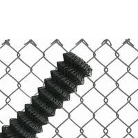Maschendrahtzaun anthrazit 60x2,8 Viereckgeflecht Maschinengeflecht Zaun Masche
