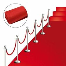 40ft Hollywood Party VIP Red Carpet Floor Runner Prom Birthday Prop Decoration