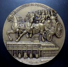 Celebrating 150 years / Firefighters Viseu 1827-1977 / Bronze Medal 90 mm / M61