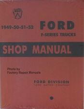 1949 1952 Ford Truck F1 F2 F3 F4 F5-F8 Factory Shop Service Manual 1950 1951