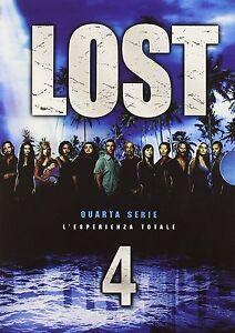 COFANETTO DVD - LOST STAGIONE SERIE 4 SERIE TV (6 DVD) - Nuovo!!
