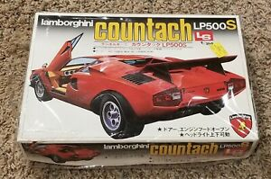 Vintage LS Scale Craft Lamborghini Countach LP500s *1/24 #C615:600