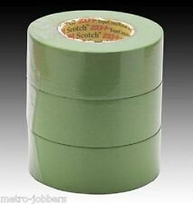 "3M 26340 Scotch Green 233+ Performance Masking Tape 2"" Sleeve of 3 Rolls"