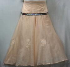Women Clothing African wrap around Skirt Maxi Vintage Free size Peach
