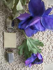 Lagenlook Cuir Robe Clip ~ goth boho ~ Crème Pearl/70 couleurs + Magnolia Taille unique ~ BN