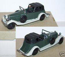 Injectaplastic huilor hispano suiza j12 1934 coupe de ville grey green ref 652b
