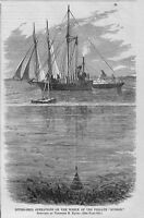 DIVING RECOVERY HISTORY, 1866 DIVING-BELL OPERATIONS ON WRECK OF FRIGATE HUSSAR