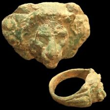 Roma Antigua Bronce León Anillo - 200-400 AD (4)