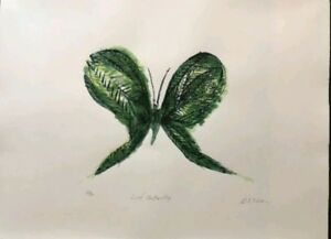 """CHARLES BLACKMAN 1928 - 2018 """"""""Leaf Butterfly"""""""""""