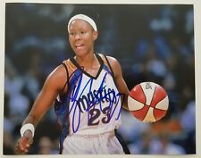 Chamique Holdsclaw Signed 8x10 Photo Tennessee Lady Vols Mystics Sparks Wnba Rad