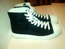 Prada Sport Velvet Shoes Sneakers 3T 6243 Hi Tops Men's Size 40 US 7-7.5 NEW!