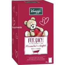 Kneipp GeschenkSet 4-tlg. BADEKRISTALLE 4x60g Badesalz Badezusatz