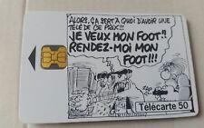 Telecarte 50 unités  FRANCE 98  très bon état