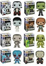 "Funko UNIVERSAL MONSTERS 8PC 3.75"" POP FIGURES SET WOLFMAN - DRACULA & MORE!!"