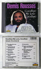DEMIS ROUSSOS Goodbye My Love Goodbye .. Karussell CD TOP White Backcover