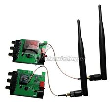 8Ch 2.3G 2.4G 2.5G Wireless Audio Video Transmitter Receiver 600m w/ 6dB Antenna