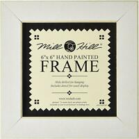 MILL HILL FRAME 6 x 6 Fits Button & Bead Cross Stitch Kits ANTIQUE WHITE