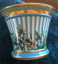 "Versace Flowerpot ""Tropical Wond"" By Rosenthal, Germany, New, in Box"