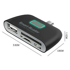 Card Reader Smart Adapter Compact Multi-functional Micro USB Networking PC Tools