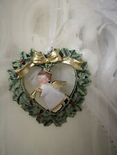 Christmas Tree Ornament Angel Deco Christmas Shabby Vintage