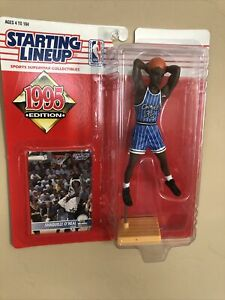 1995 START LINEUP SHAQUILLE O'NEAL ORLANDO MAGIC NBA ACTION FIGURE BASKETBALL
