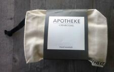 Apotheke Charcoal Gift Set with Travel Pouch – Soap, Lotion, Cream – New