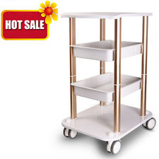 High Quality Beauty Salon SPA Styling Station Trolley Storage Tray Rolling Cart