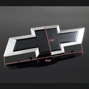 #22786809 For 2014-2015 GM Chevy Silverado Black Front Grill Bowtie Emblem