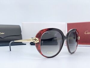 Occhiali Cartier Panthere Wild Spotte Ref. ESW00053 Limited Edition Lunettes