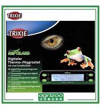 Trixie Termostato ed Igrostato Digitale Rettili Temperatura Umidità 16x4 cm