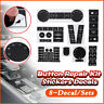 Lot Autocollants Bouton de Réparation Stickers Pour VW Volkswagen Touareg 04–09